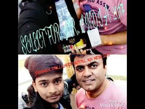 SHUBHAM BORSARE  FASHION MODEL MR. INDIA 2017 SEMIFINALE