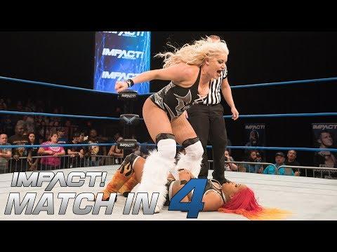 Taya Valkyrie vs Kiera Hogan: Match in 4 | IMPACT! Highlights May 3 2018