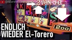 👉 ENDLICH wieder El Torero auf 2€ Freispiele RUHE wir bleiben drin! Teil 12
