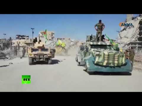 Syrian drift: SDF celebrating Raqqa's liberation from ISIS