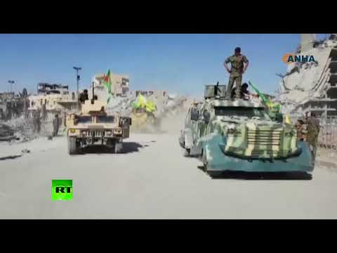 Syrian drift: SDF celebrating Raqqa's liberation from ISIS