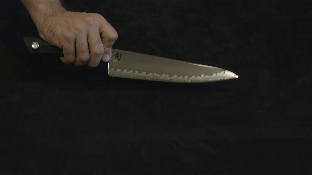 Shun Sora 8 Inch Chef's Knife — Review and Information. - YouTube