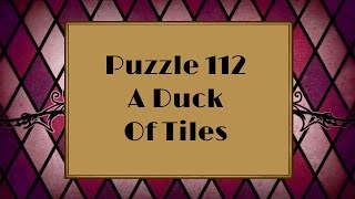 Professor Layton and the Miracle Mask - Puzzle 112: A Duck Of Tiles