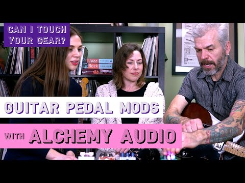 """""""Can I Touch Your Gear?"""" S1E3 Alchemy Audio On Guitar Pedal Modding And Building"""
