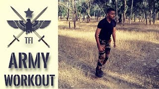 Day 1 Indian Army Training Videos In Hindi | Military Workout Exercises