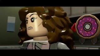мультфильм игра для детей Лего, охотники за приведениями часть 2