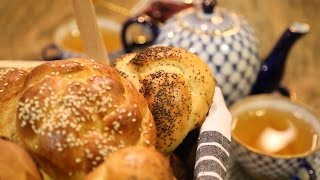 How To Bake Sweet Bread Rolls Challah Bread Recipe