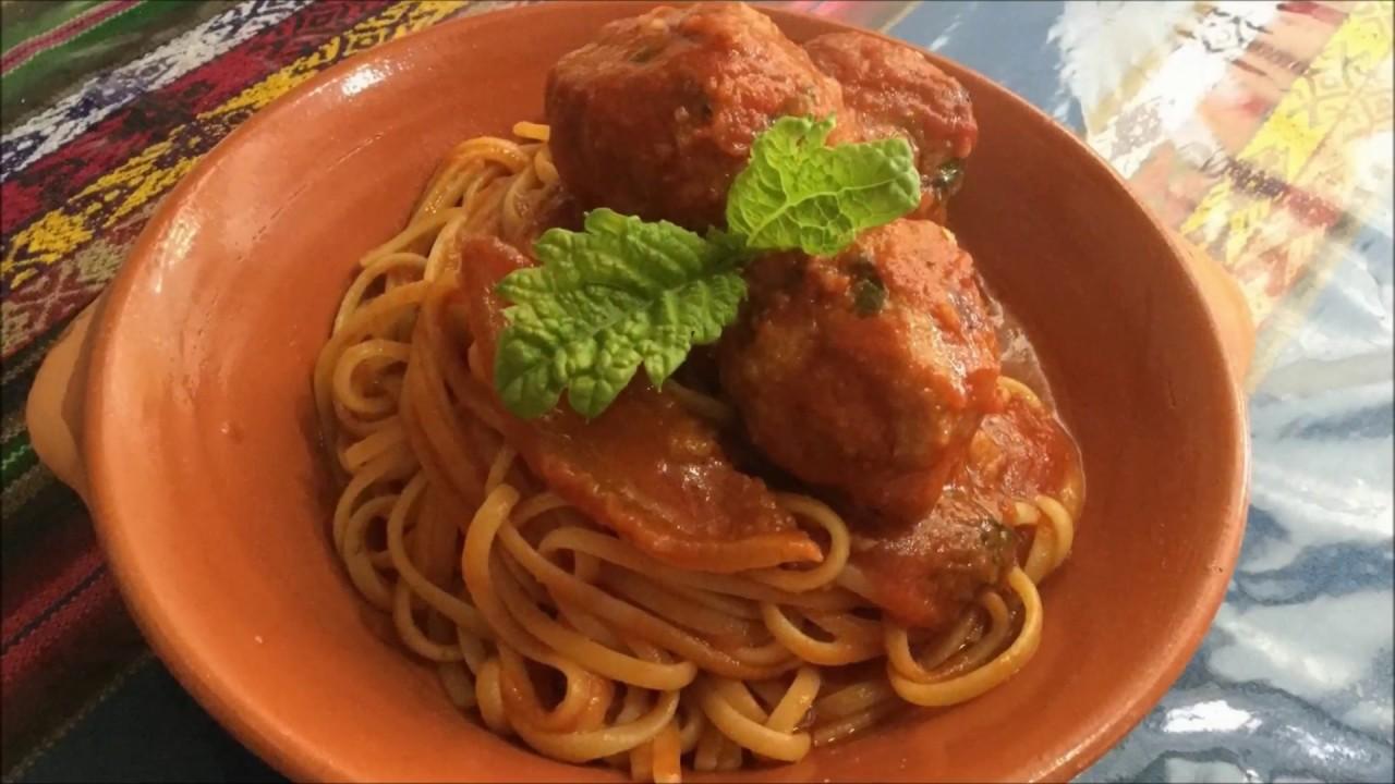 Molto Spaghetti quadrati con polpette al sugo (fotoracconto di Max  CA37