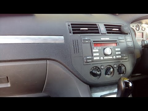 Ford Cmax 2003-2010 how to remove & refit a radio,simple step by step guide.