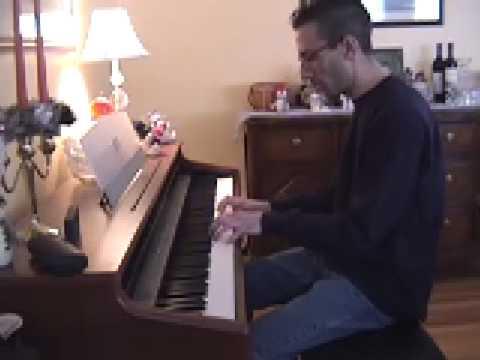 Thunder Road on piano