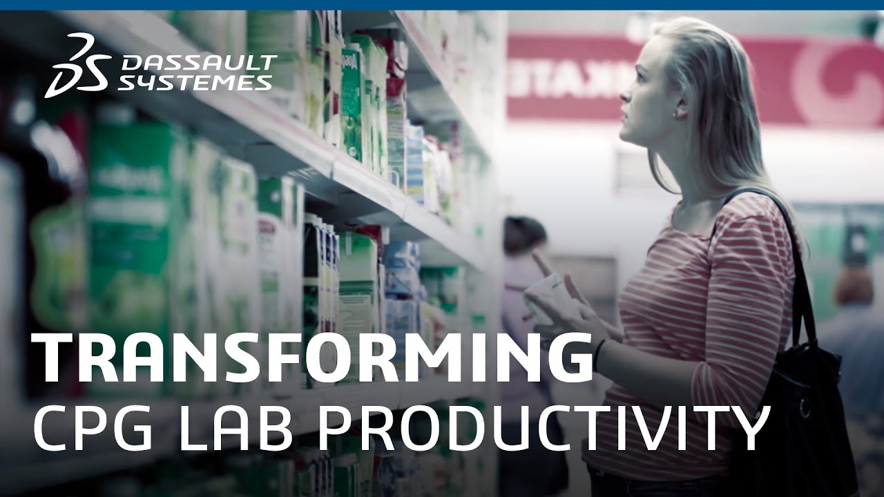Real Digital Transformation Story - CPG Lab Productivity - Dassault Systèmes