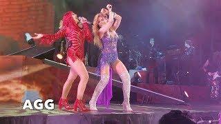 Gloria Trevi Versus Alejandra Guzman Cuando un Hombre te Enamora 2017 Live FRONT ROW in 4K HD