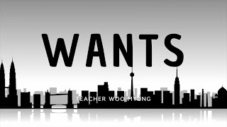 'Wants' From The Enlightened World By Teacher Woo Myung