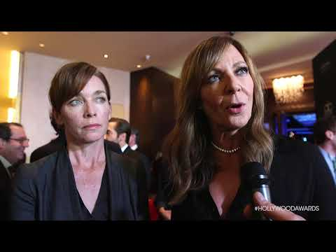 Julianne Nicholson and Allison Janney   HFA 2017