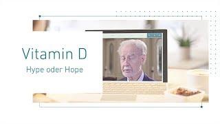 Vitamin D - Hype oder Hope   Webinar mit Prof. Dr. med. Jörg Spitz