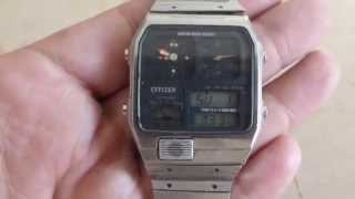 Reloj Citizen retro