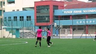 Jiayu's penalty goal against Olympique Gaulois (01-10-11 @ Yusof Ishak sec)