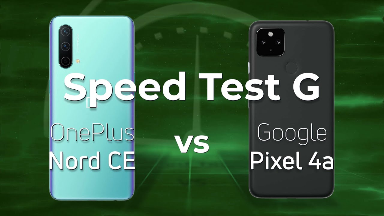 OnePlus Nord CE vs Pixel 4a