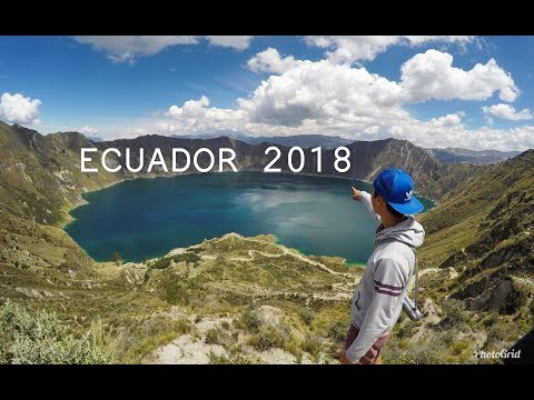 ECUADOR 2018 - 4 weeks backpacking with GOPRO HERO