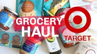 TARGET GROCERY SHOPPING + HEALTHY FOOD HAUL