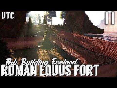 Ark Building Evolved :: Episode 11 :: Roman Equus Stables (Part 2) :: Ark Creative Building :: UTC