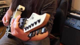 "Europe ""The Final Countdown"" guitar solo lesson! Weekend Wankshop 123"