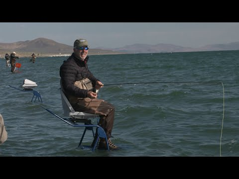 Outdoor Nevada | Ladder Fly-Fishing At Pyramid Lake