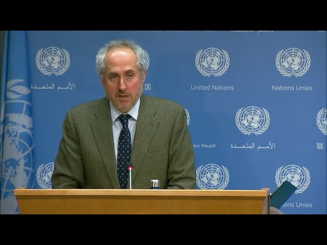 Security Council briefing oh Hunger & other topics - Daily Briefing (23 March 2018)