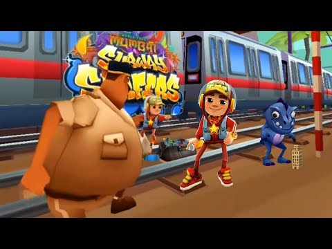 Subway Surfers Welcome To Mumbai - Jake Star vs Dino Gameplay| Cartoons Mee