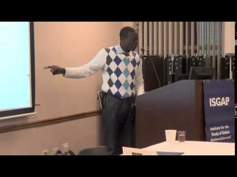 """Shalem Coulibaly -- """"Sub-Saharan Africa, Globalization, and Antisemitism"""" (Part Two)"""
