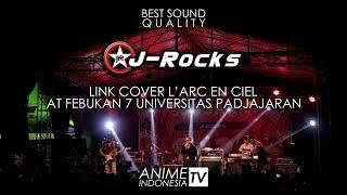Konser Live J-Rocks - LINK ( Cover L'Arc en ciel ) at at Fesbukan 7...
