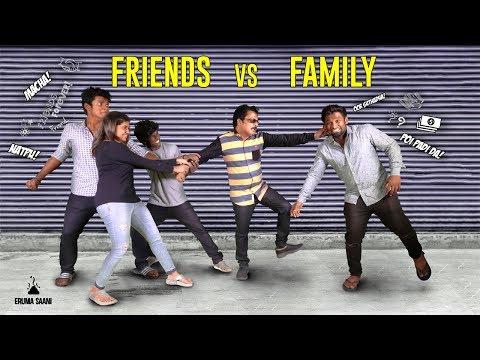 Eruma Saani  Friends vs Family  feat Pandiarajan & Vijay