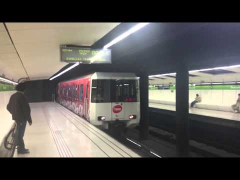 Drassanes Station - Metro Barcelona