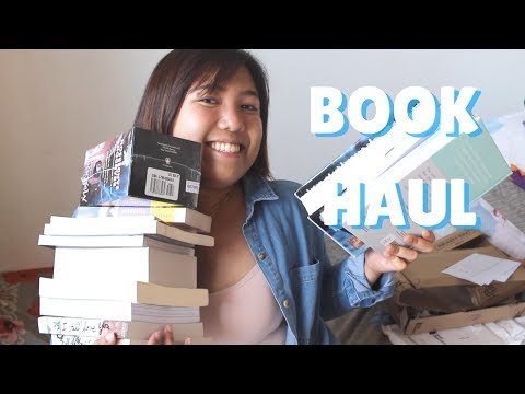 Book Haul #1: Fullybooked, Bookdepository, National Bookstor