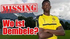 Ousmane Dembélé verschollen. (BREAKING NEWS)