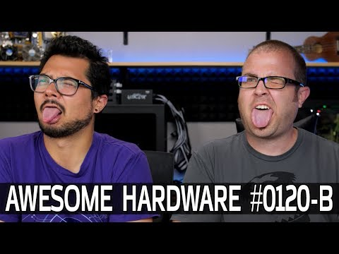 Awesome Hardware #0120-B: 5G Tests, 32:9 Monitors, Bendy Phones, Crazy Big Mobos