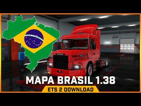 EURO TRUCK SIMULATOR 2 | MAPA EAA BRASIL 1.38 DOWNLOAD E INSTALAÇÃO