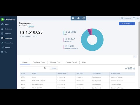 QuickBooks Payroll Software Demo