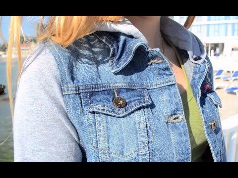 Куртка женская джинсовая стильная 497K002