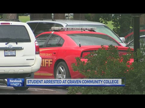 Student with gun arrested at Craven Community College