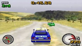 Top Gear Rally (Gameboy Advance Gameplay)