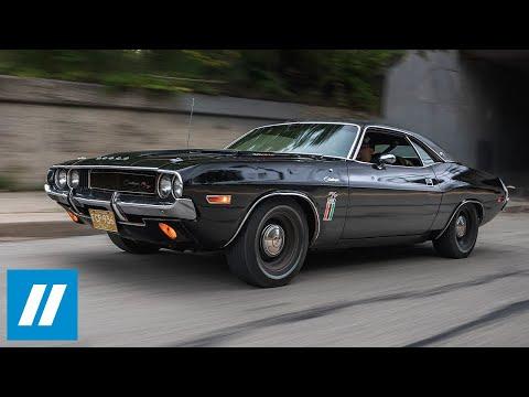 The Black Ghost: Street Racing Legend - 1970 Dodge Challenger 426 Hemi Documentary | HVA