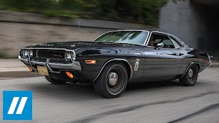 The Black Ghost: Street Racing Legend - 1970 Dodge Challenger 426 Hemi Documentary | HVA