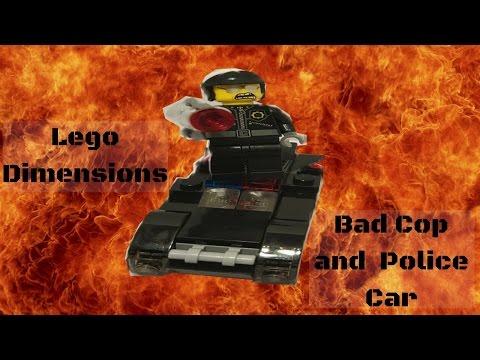 lego movie bad cop car instructions