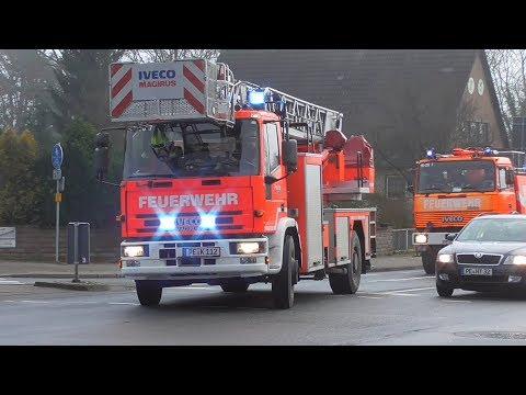 (Sirenenalarmierung) Einsatzfahrten Feuerwehren Der Gemeinde Edemissen Und FF Peine