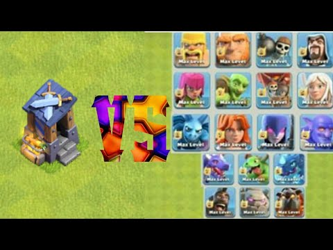 Guard Post Vs Max Troops | Ultimate Battle | Clash Of Clans