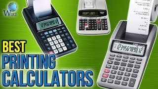 7 Best Printing Calculators 2017