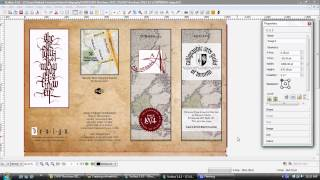 design Professional Brochures Using GIMP Inkscape and Scribus