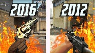 ОТЛИЧИЯ CS:GO 2012 и 2016 | AlexShow