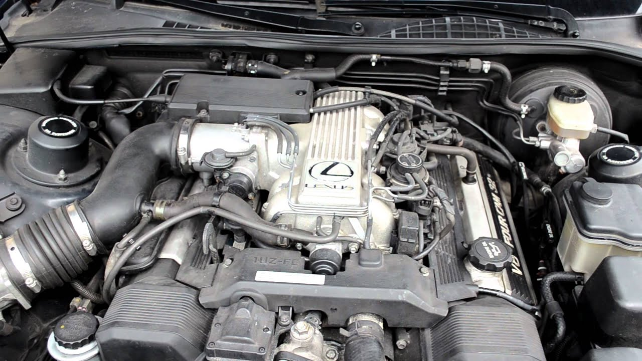 small resolution of  lexus ls400 spark plug wiring diagram my ls400 engine with new spark plugs and ignition cables youtubemy ls400 engine with new spark